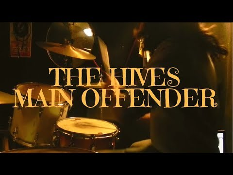 MAIN OFFENDER - DRUM COVER - THE HIVES