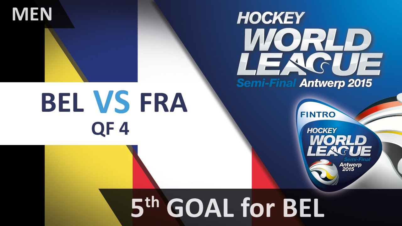 Boon Gets His Name On The Scoresheet After A Good Run Bel 5-3 Fra