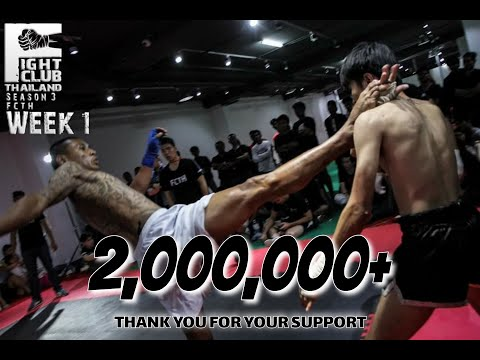 Fight Club Thailand SS3 W1 2017 Special Fight (ANTI HERO) PLOY domlek x THIINGS TRACK - 1