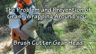 The Problem and Prevention of Grass Wrapping Around Brush Cutter Gear Head