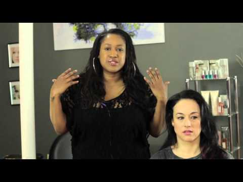 How to Straighten My Roots Without a Perm : Hair Styling & Care