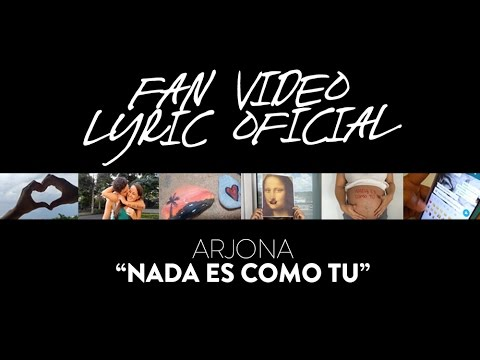 Ricardo Arjona – Nada Es Como Tú Fan Video Lyric (Oficial) mp3 baixar