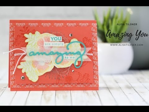Stampin' Up! Amazing You CASE of the SAB Cover