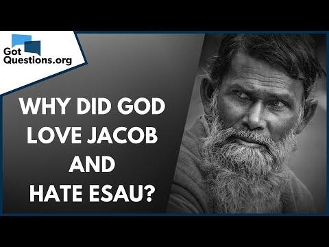 Why Did God Love Jacob And Hate Esau Malachi 1 3 Romans 9 13 Gotquestions Org