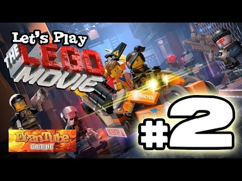 Let's Play The LEGO MOVIE VIDEO GAME! (Level 2) Gameplay with EvanTubeHD