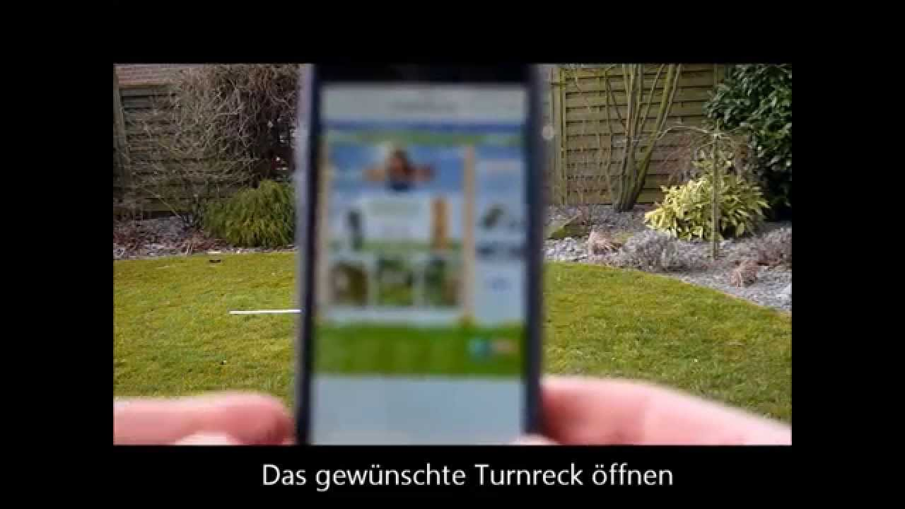 das turnreck live in 3d im garten testen, per 3d live-viewer app