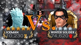 After ranking our 5 Star Iceman to rank 4 we fight with him for the...