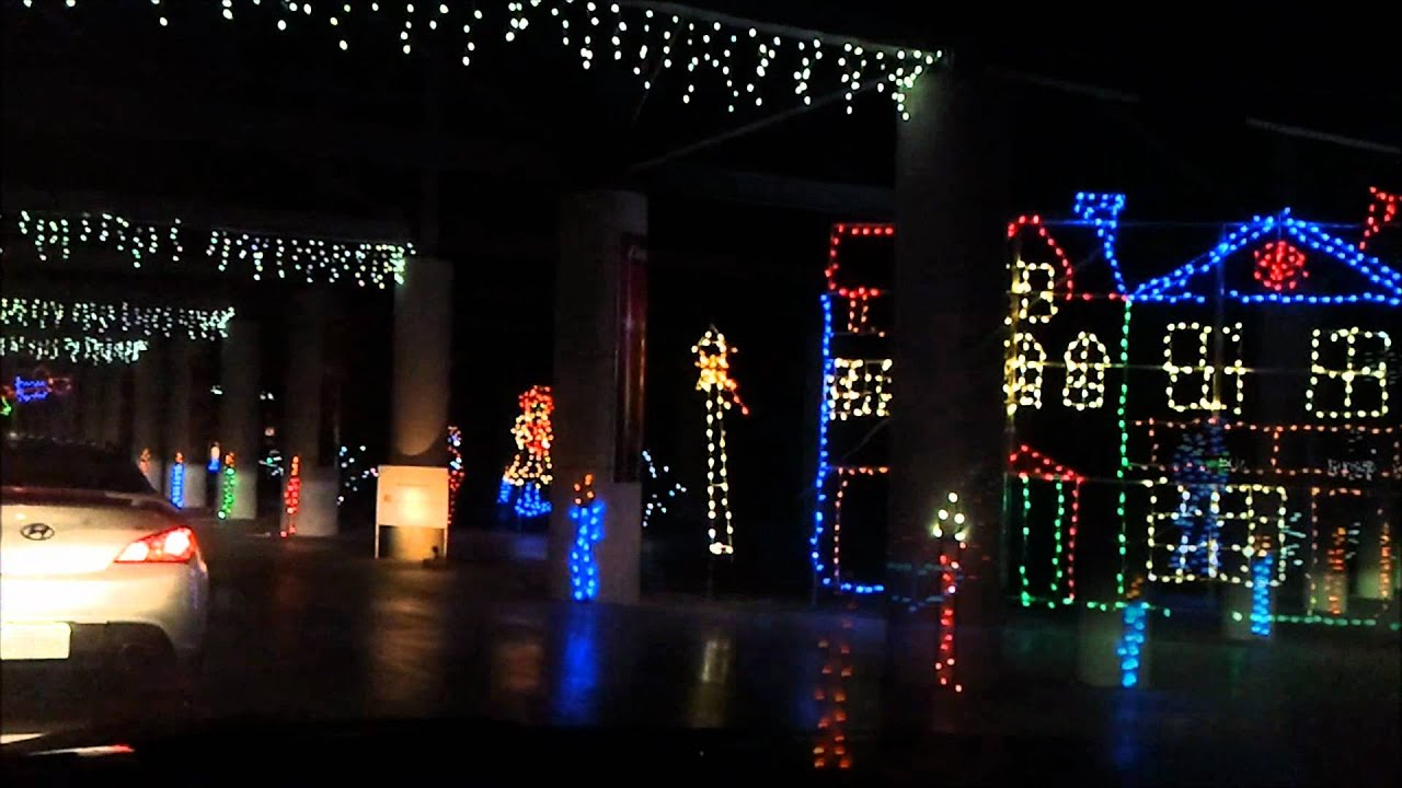 2011 Las Vegas Motor Speedway Christmas Light Display - YouTube