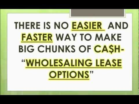 Wholesaling Lease Options with Joe McCall