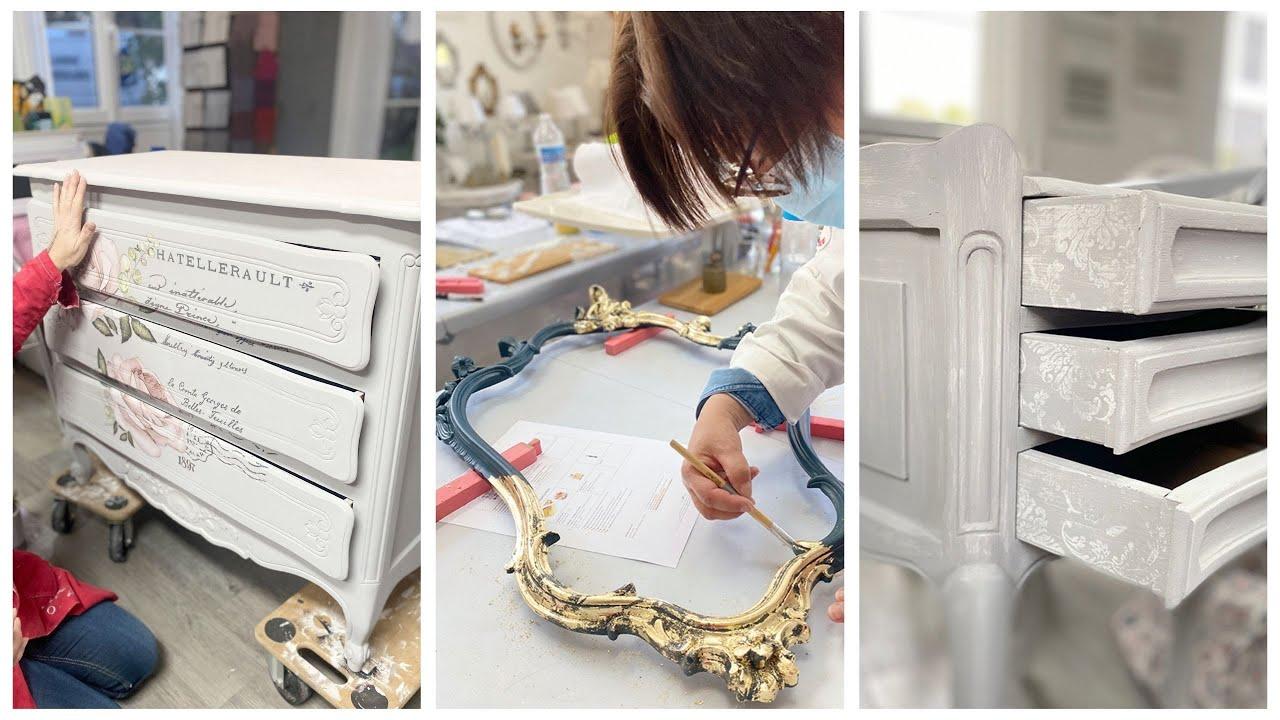 Transformer, relooker et agrémenter meubles et articles de décoration - Formation niveau 2