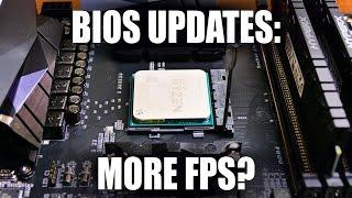 can a bios update increase fps for amd ryzen pcs