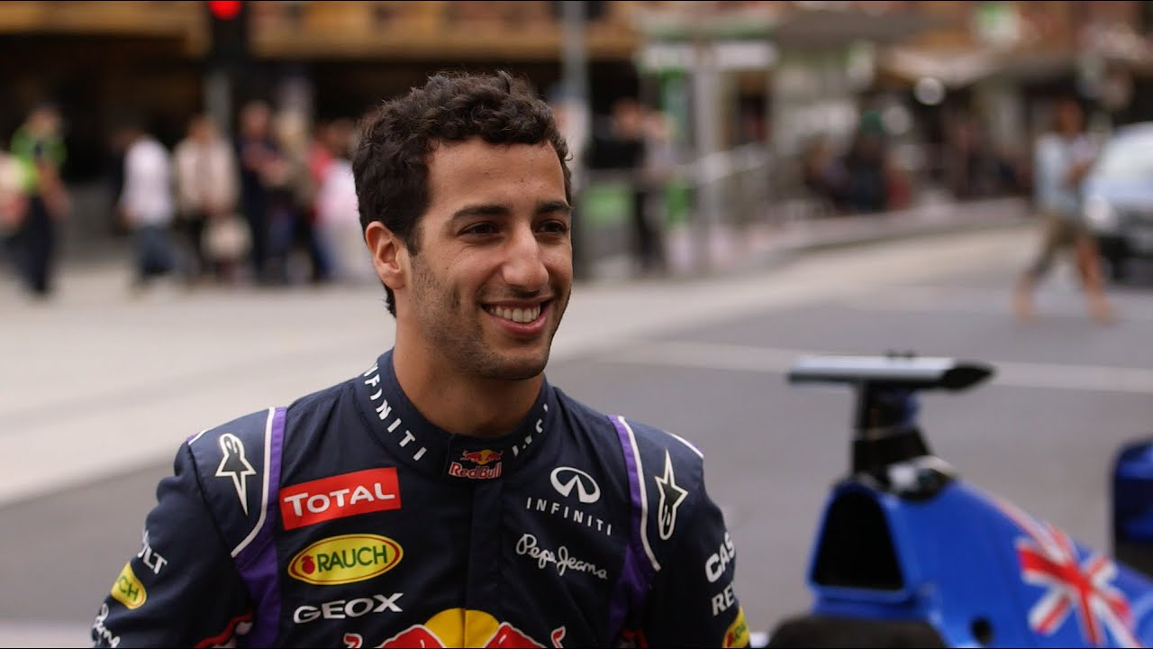 daniel ricciardo prepares for the 2015 australian grand prix youtube. Black Bedroom Furniture Sets. Home Design Ideas