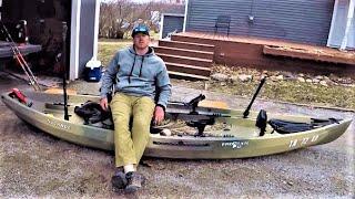 Ultimate Kayak Catfish Rigging (NuCanoe Frontier 12)