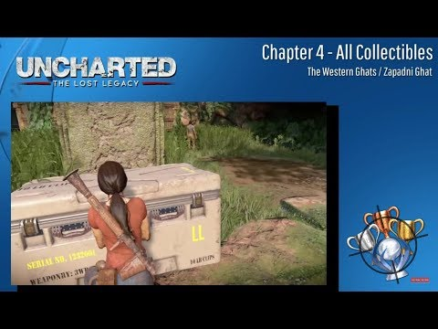 Uncharted: The Lost Legacy - (Chapter 4) Treasures, Photos, Conversations & Lockboxes CZ