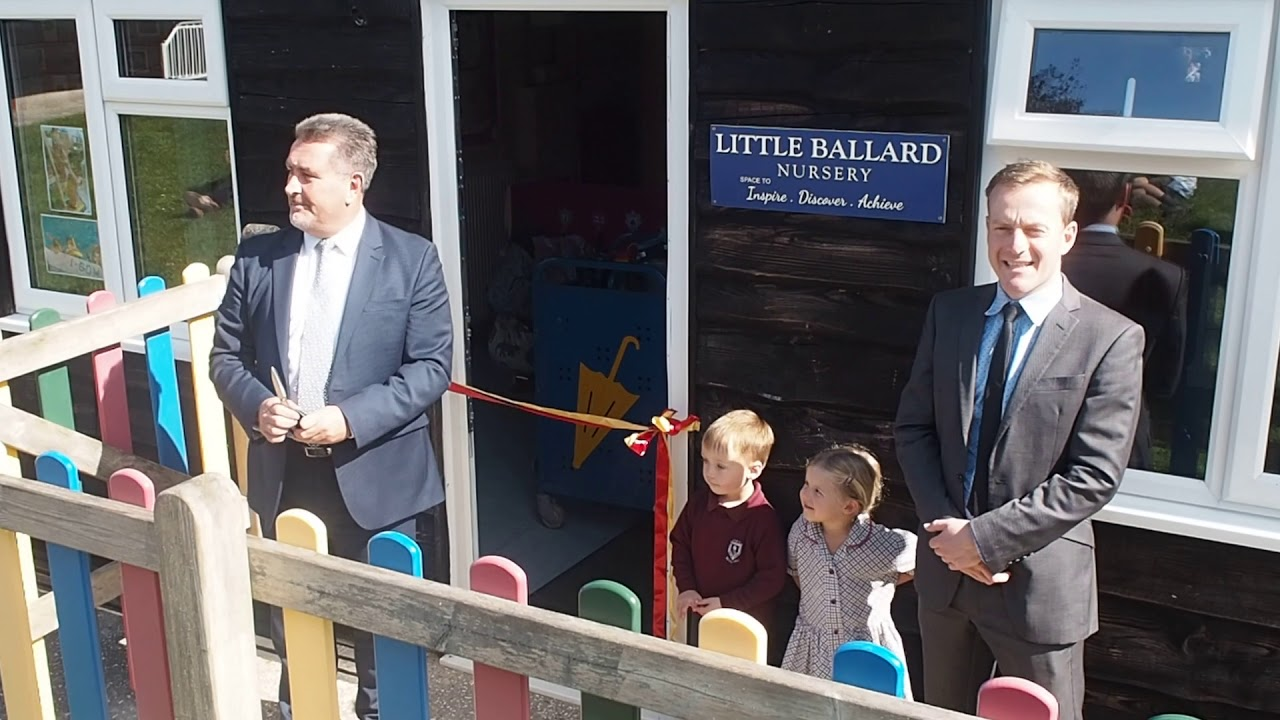 little ballard nursery official opening - youtube