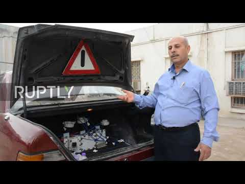 Iraqi inventor showcases 'water-fuelled' car in Baghdad