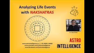 Analyze LIFE EVENTS with NAKSHATRAS