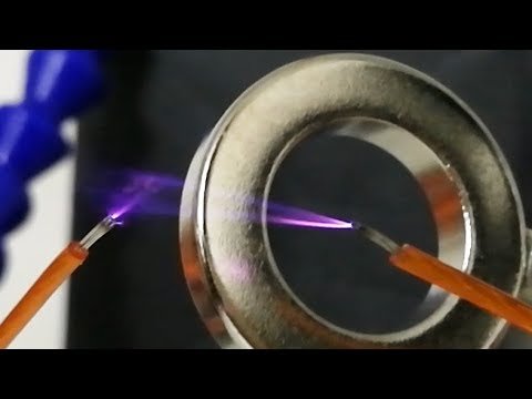Plasma Arc In Magnetic Fields