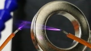 Plasma Arc In Magnetic Fields | Magnetic Games