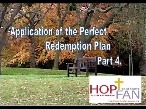 09 Application of the Perfect Redemption plan part 4 pages 73 -  86
