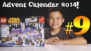 2014 LEGO STAR WARS Advent Calendar DAY 9 - Set 75056 + Question of the Day!