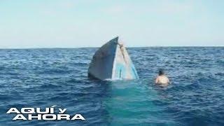 Al ser detectados, los tripulantes de los narcosubmarinos deben elegir entre hundirlo o entregarse