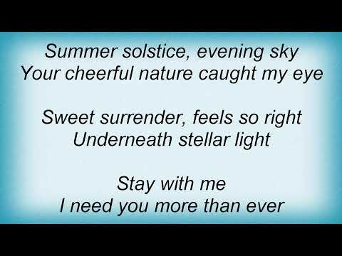 Sylver - Summer Solstice Lyrics