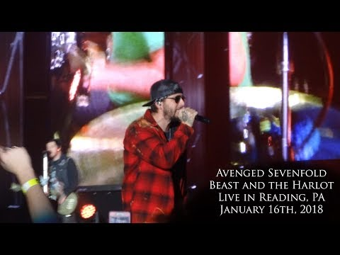 Avenged Sevenfold - Beast and the Harlot (Live in Reading, PA 1-16-18)