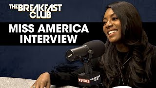 Nia Franklin On Winning The Miss America Pageant, Ditching The Swimsuit Contest, Role Models + More