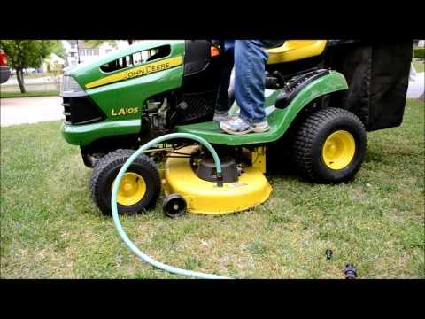 john-deere-riding-mower-deck-auto-wash-la-105
