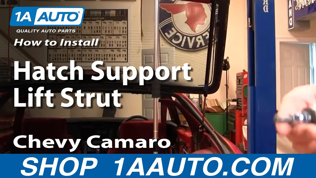 How To Replace Rear Hatch Support Struts 82 92 Chevy
