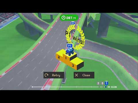 Slot Car Racing ~ Level 7: Rising Star ~ All AI Difficulties – LABO 03: Vehicle Kit – No Commentary