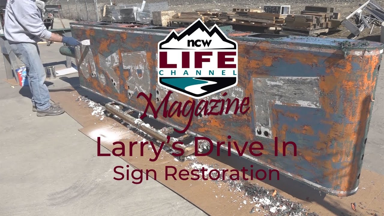 NCWLIFE Magazine: Larry's Drive In Sign Restoration