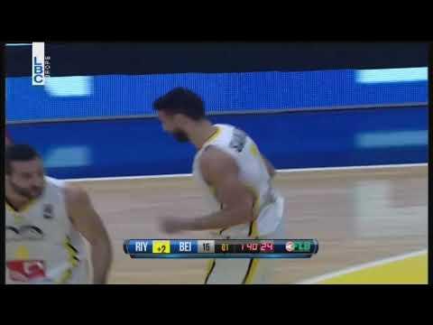 Riyadi vs Beirut - Amir Saoud Basket