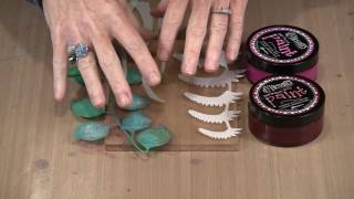 Creating A Scene With Gel Press Plus Flora & Fronds Masks by Joggles.com