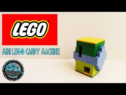 Mini Lego Candy Machine Tutorial Youtube