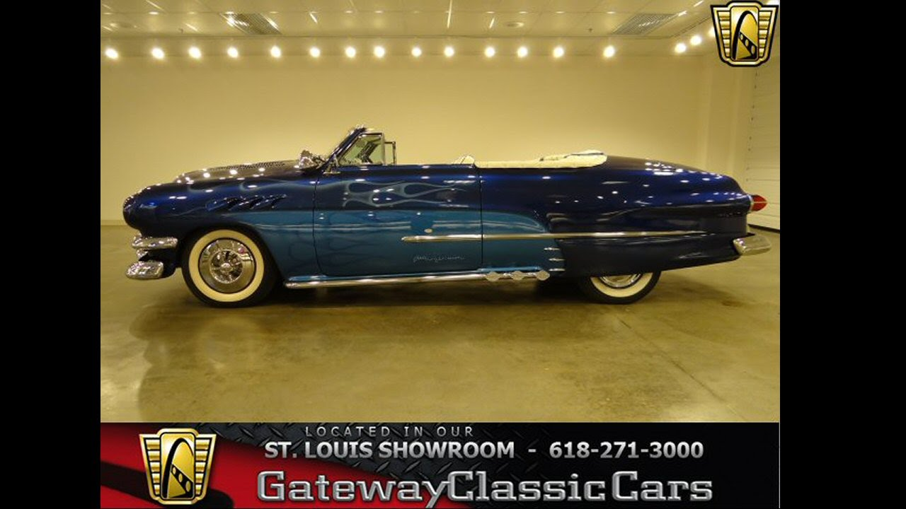 Ford Custom Convertible For Sale At Gateway Classic - Classic and custom cars for sale