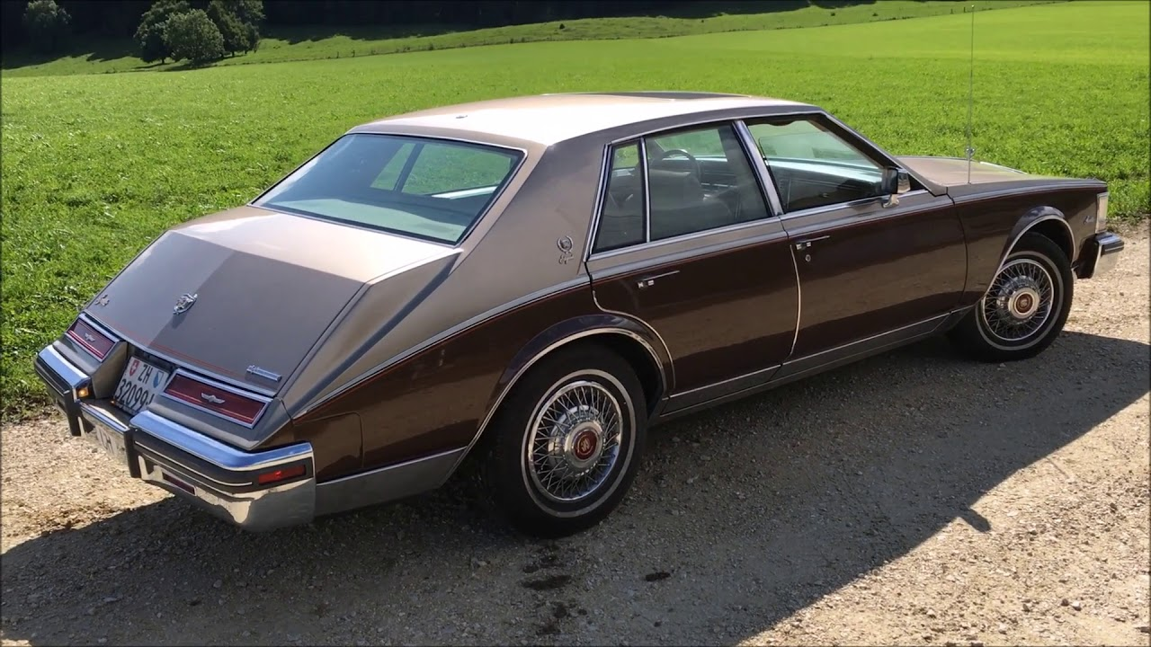 Cadillac Seville Elegante 6 0 L 1981 Youtube