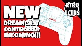 Retro Fighters Dreamcast Controller KICKSTARTER   The Retrollectors