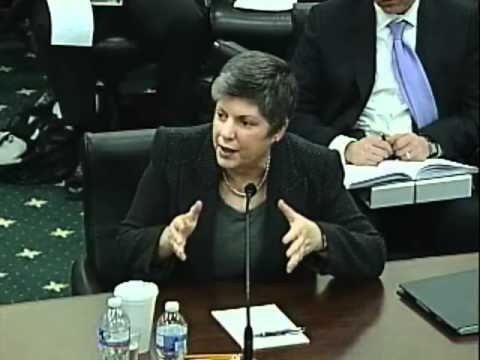 Homeland Security Subcommittee DHS FY13 Budget Hearing with Secretary Napolitano