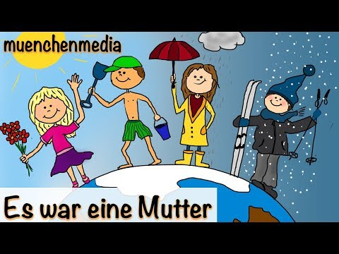 Es war eine Mutter - Kinderlieder deutsch | Kinderlieder zum