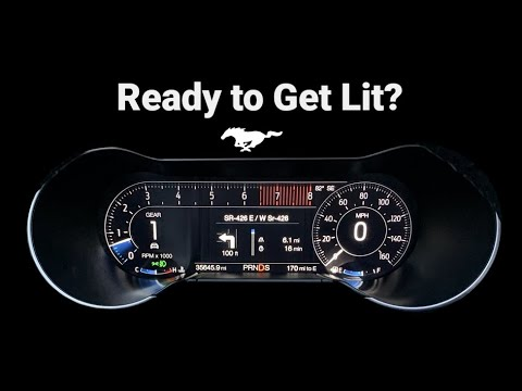 2015-2019 Ford Mustang Digital Speedometer Cluster Upgrade Installation