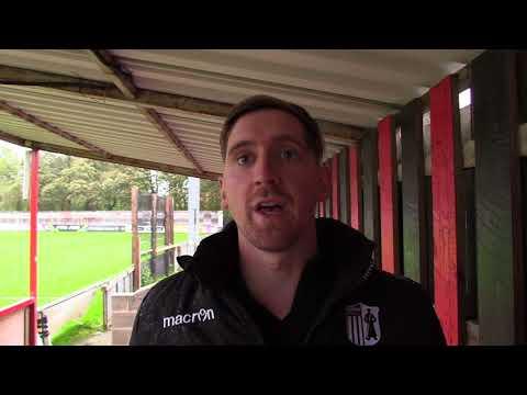 CTTV Interview: Steve Kinniburgh post Sheffield fc.