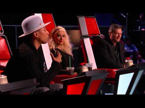 The Voice 2015 Blind Audition   Treeva Gibson   Young and Beautiful