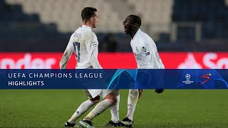 UEFA Champions League | Round of 16 | Atalanta BC v Real Madrid | Highlights