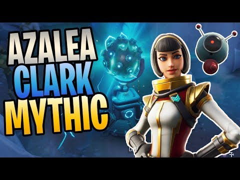 FORTNITE - New Mythic AZALEA CLARK And Z.A.P Team Perk STW Gameplay