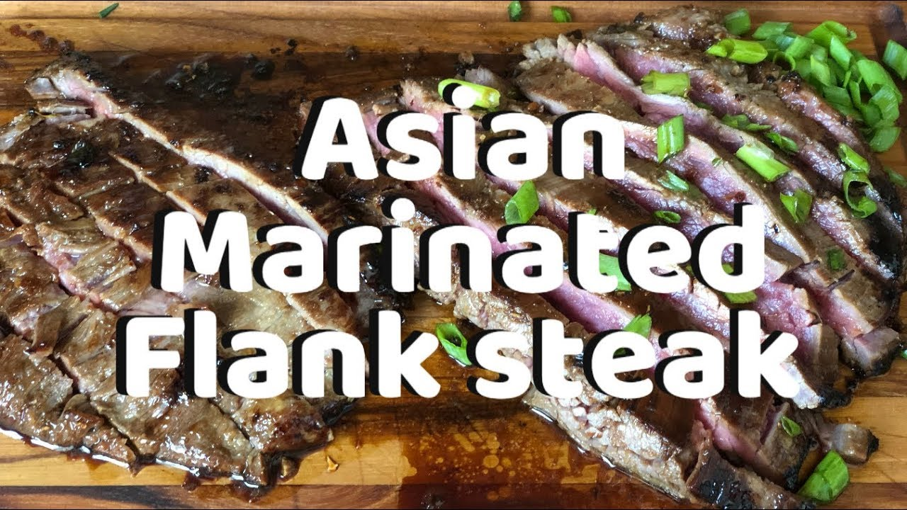 Asian marinated steak Neeno's essentials