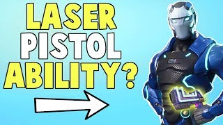 Carbide's New Leaked Laser Pistol Ability! (+All Abilities) | Fortnite Save The World News