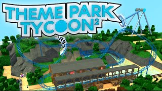Roblox Theme Park Tycoon!? Ep 1 W/Mitch----Conor's POV