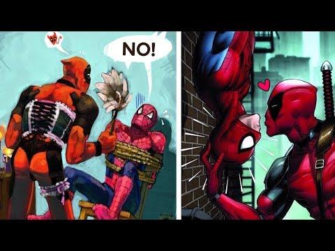 7 Superhéroes que AMAN a SPIDERMAN